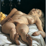 nude on table 2001