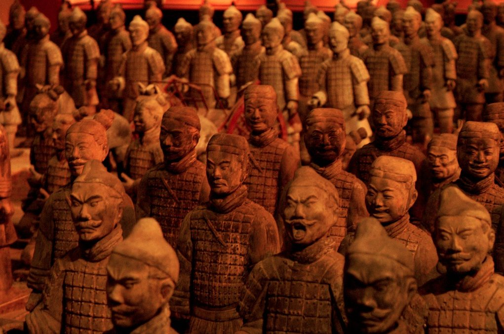 The Terracotta Army is a perfect example of repetition.