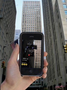 Acrossair's 'New York Nearest Subway' app