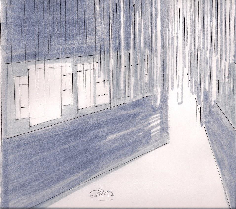 Chaos sketch by Maxyne Baker