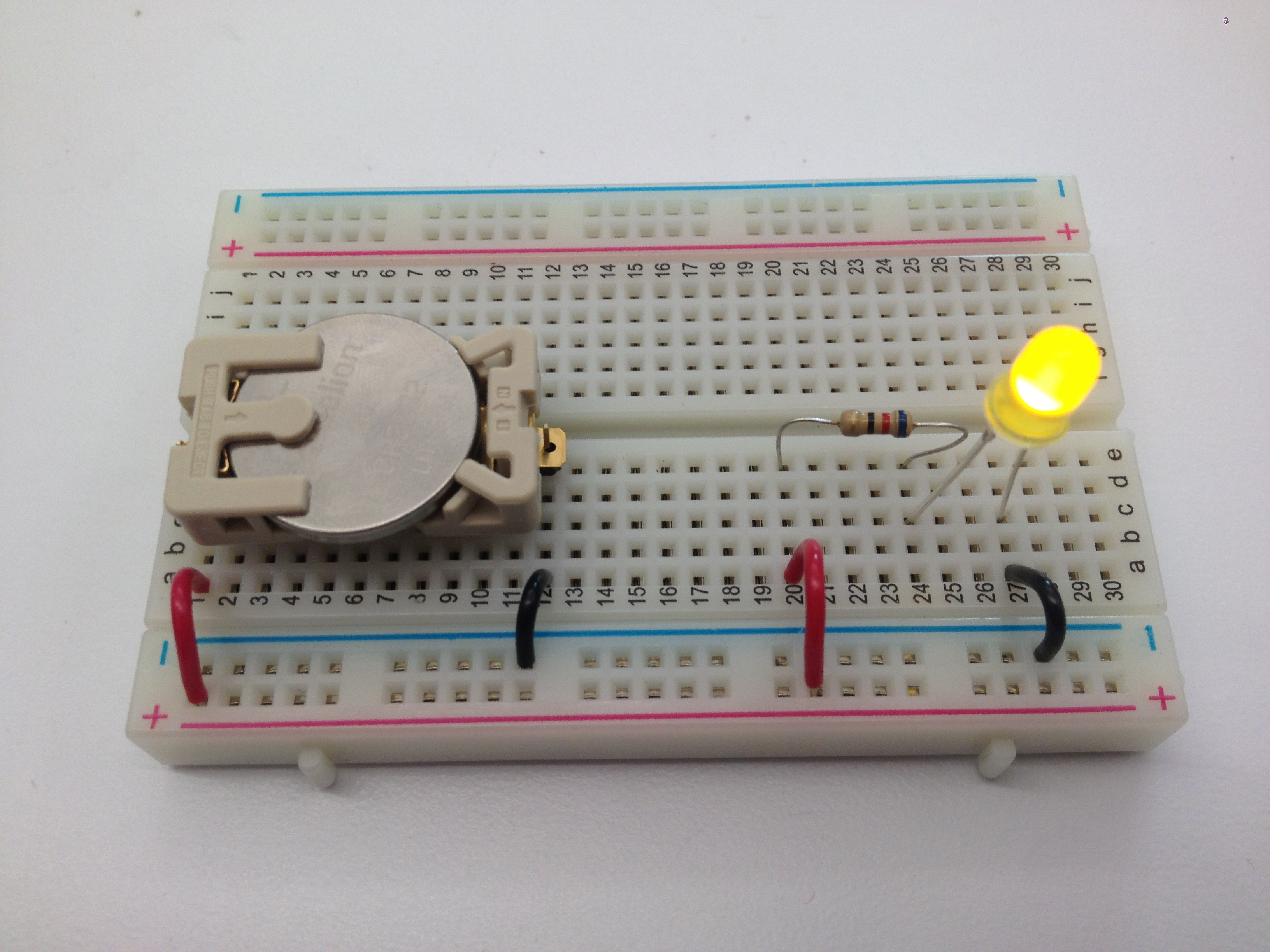 Hard And Soft Circuit Wearable Technology 1 2013 On Breadboard Wc2