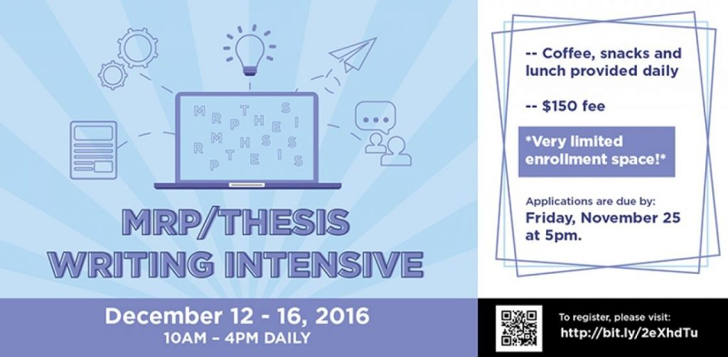 thesis deadline Completing a master's thesis requires planning and attention to deadlines work closely with your thesis committee and/or graduate advisor to meet your departmental deadlines for committee review and the defense of your thesis.