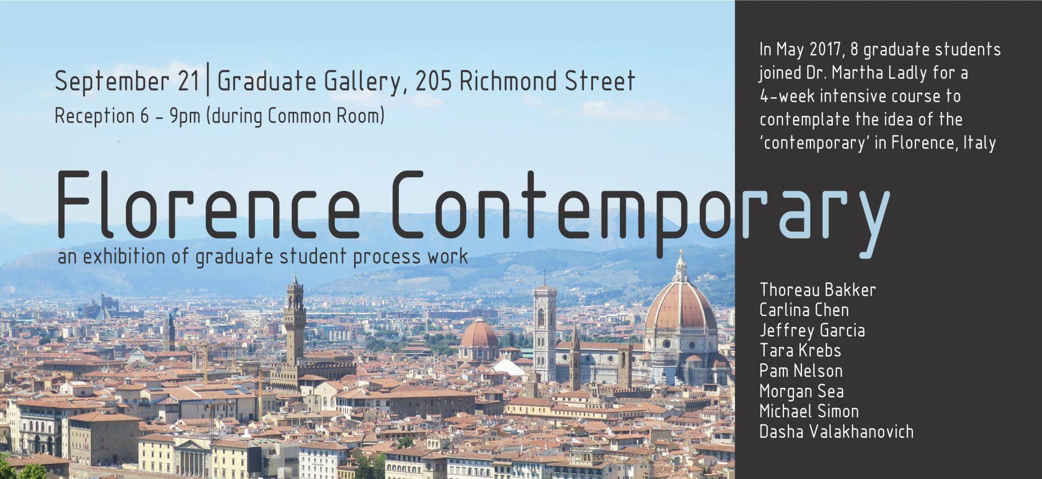 Florence Exhibiton