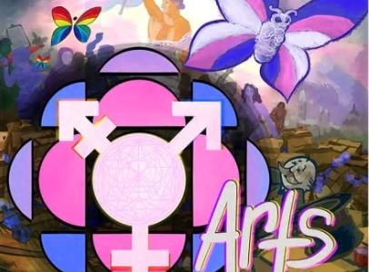 Transgender Awareness Month design by Morgan Sea