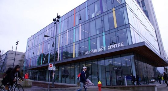 Image of Audain Art Centre, University of British Columbia