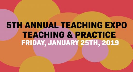 5th Annual Teaching Expo @ OCADU: Friday, January 25th, 2019 9AM-5PM
