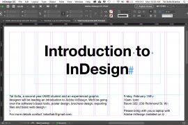 InDesign Workshop