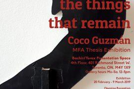 Guzman's Exhibition Invite