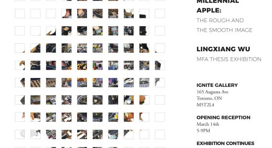 Invitation to MFA Thesis Exhibition - Lingxiang Wu