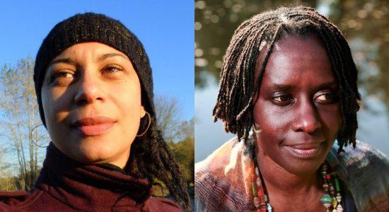 Photo courtesy of Cecily Nicholson; Photo of Juliane Okot Bitek by Colleen Butler.