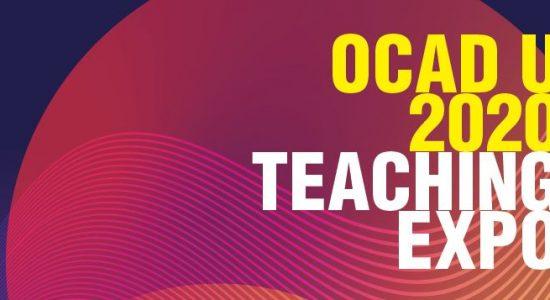 REMINDER: OCAD U 2020 Teaching Expo   January 17, 2020