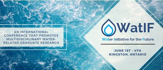 Water Initiative for the Future- Call for Abstracts- Graduate Research Conference on Water