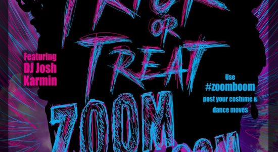 #Zoomboom Trick or Treat Halloween Dance Party