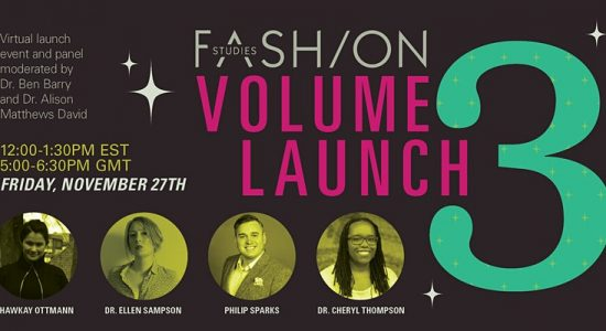 Fashion Studies Volume 3 Launch
