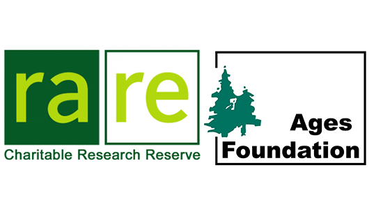 rare and ages foundation logos