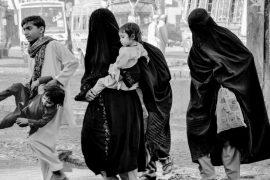 Photo: 'Burqa Family' by Mariam Magsi