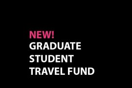 The Office of Graduate Studies is pleased to announce the introduction of the new OCAD University Graduate Student Travel Fund! This new fund will create a more equitable framework (open to all graduate students across all graduate programs) and with three deadlines annually will create a more balanced approach than the current first-come, first-served funding option. While many university graduate student travel funds are limited to dissemination (e.g. conference or symposia), the nature of our programs suggests that students would benefit significantly from travel that allows them to do research as well. Rather than create two separate entities, we have determined to use a single fund for ease of operation and distribution. This new fund will be designated exclusively to student travel related to research and dissemination; we anticipate being able to support between 25 and 35 applications annually. To get things started, we are launching the first competition today (March 2), with a deadline of March 26, 2018. All students who are planning conference or research travel in the next six months are encouraged to submit an application. Principal Advisors and graduate faculty members should also encourage their students to consider applying to the fund in support of their students' research. The guidelines and application procedures for the new Travel Fund are available here. If you have any further questions, please contact the Graduate Studies Officer, Anne Ahrens-Embleton at aahrensembleton@ocadu.ca.