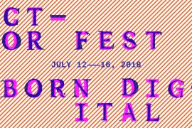 @VectorFestival 2018 curated by DF MFA Alumna (2018)Katie Micak ft. DF faculty & alumni, via http://vectorfestival.org/2018-artists/