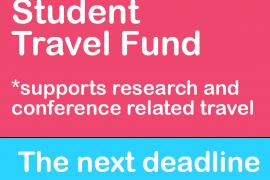 Graduate Student Travel Fund promo image