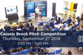 Promotional image for Pitch Competition