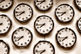 image of clocks