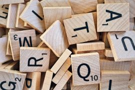 Image of Scrabble letters