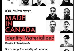 Promotional posters, featuring portraits of 2nd year OCAD U students.