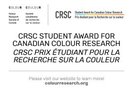 Hello faculty, students, colour enthusiasts and experts – please share as widely as possible, on social media, or by email. And see attached info sheet. The CRSC is pleased to announce our first student award (www.colourresearch.org). Best regards, Doreen Doreen Balabanoff, BA, MARch, PhD Professor, Environmental Design, OCAD University President, Colour Research Society of Canada