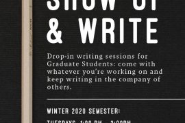 Show Up and Write poster
