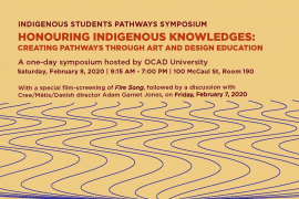 Indigenous Students Pathways Symposium | February 8, 2020