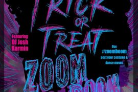 #Zoomboom Trick or Treat Halloween Dance Party