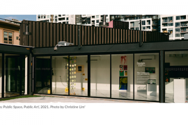 The Commons: Public Space, Public Art', 2021. Photo by Christine Lim'