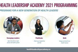 Health Leadership Academy 2021
