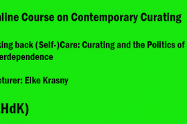 Online Course in Contemporary Curating