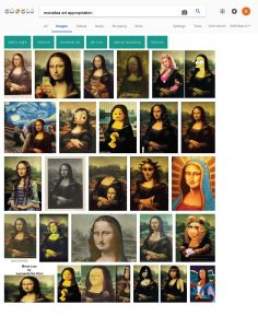 monalisa-art-appropriation-google-search_page_1