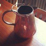 Victorian copper pitcher!