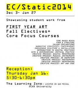 Microsoft Word - ECstatic fall electives poster.docx