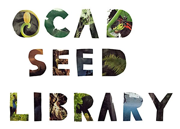 OCAD Seed Library located in the Learning Zone
