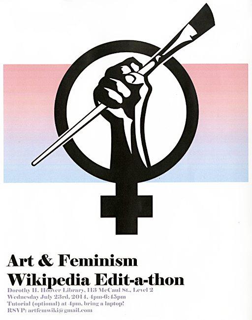Art + Feminism Wikipedia Edit-A-Thon, OCAD U Library