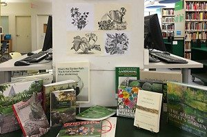 Gardens, Plants, and Landscape Design Display; OCAD U's Library