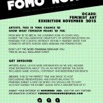 Feminist FOMO NOMO Show What Feminism Means To You Poster