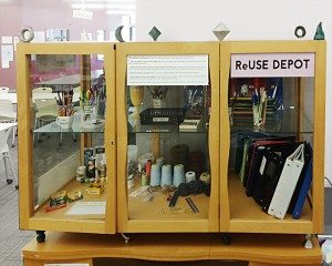 Self-Serve ReUse Depot located in Learning Zone