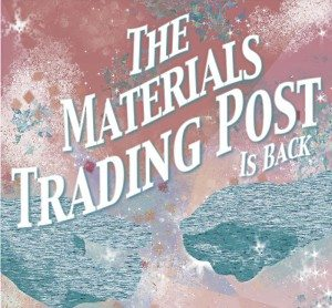 The Materials Trading Post Is Back. Wednesday November 18, 1- 4 pm. INVC and Learning Zone joint event. Donations