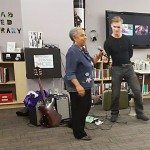Lillian Allen & Magnus Frolov performing at Opening Reception - Feminist FOMO NOMO