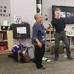Lillian Allen & Magnus Frolov performing at Opening Reception - Feminist FOMO NOMO