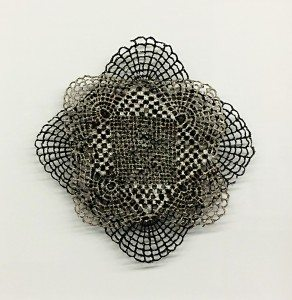 Pattern/Study Exhibition;Optical Lace Repeat by Textile Artist Lizz Aston