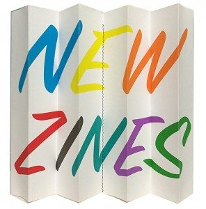 OCAD Zine Library New Zines signage