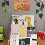 Zines under the Sun display