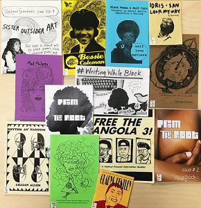 Black History Month Zine Display 2017