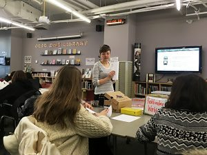 Zine Library Workshop: Bookbinding Workshop